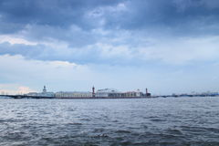 Saint-Petersburg, after the storm Royalty Free Stock Photo