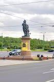 Saint Petersburg. Suvorov Square Stock Image