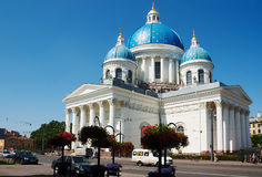 Saint-Petersburg. Trinity Cathedral. Stock Images