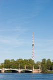 Saint-Petersburg TV Tower Royalty Free Stock Photography