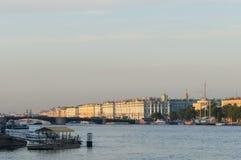 Saint Petersburg view stock photo