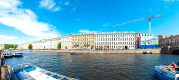 Saint Petersburg water canals Stock Image