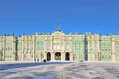 Saint-Petersburg.  Winter Palace Royalty Free Stock Photo