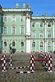Saint-Petersburg, the Winter Palace courtyard Royalty Free Stock Image