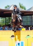 SAINT PETERSBURGO 6 DE JULHO: Andrius Petrovas em Complemento no Fotos de Stock Royalty Free