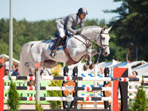 SAINT PETERSBURGO 6 DE JULHO: Rider Maxim Kryna no desafiador 37 dentro Foto de Stock