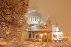 Saint-Petersburgs isaac cathedral Stock Photography