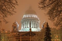 Saint-Petersburgs isaac cathedral Royalty Free Stock Images