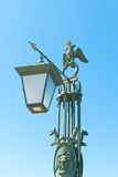 Saint Petesburg Lamp Stock Photo