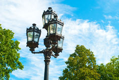 Saint Petesburg Lamp Royalty Free Stock Photo