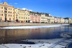 Saint-Petesburg. River Fontanka. Stock Photos