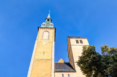 Saint Petri church in Freiberg Royalty Free Stock Images