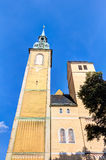 Saint Petri church in Freiberg Stock Photo