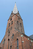 Saint Petri church in Hamburg Royalty Free Stock Photos