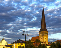 Saint Petri Church Rostock Stock Photography