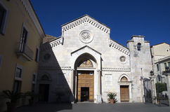 Saint Philip and James Cathedral- Duomo di Sorrento Stock Photography