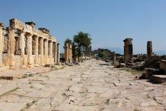 Saint Philip Martyrium Hieraplois. The Saint Philip Martyrium at Hierapolis Turkey Royalty Free Stock Photos