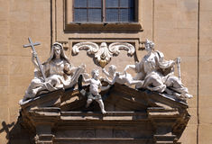Saint Philip Neri church, Complesso di San Firenze in Florence. Italy Stock Photos