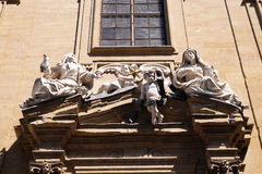 Saint Philip Neri church, Complesso di San Firenze in Florence. Italy Stock Photo