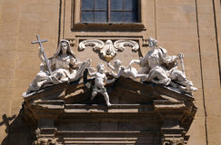 Saint Philip Neri church, Complesso di San Firenze in Florence. Italy Royalty Free Stock Images