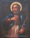 Saint Philip. Painting on church altar Royalty Free Stock Image
