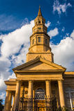 Saint Philip's Church in Charleston, South Carolina. Royalty Free Stock Image