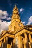 Saint Philip's Church in Charleston, South Carolina. Saint Philip's Church in Charleston, South Carolina Royalty Free Stock Image
