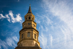 Saint Philip's Church in Charleston, South Carolina. Stock Images