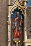 Saint Philip. Statue on the main altar in the church of Saint Matthew in Stitar, Croatia Stock Images