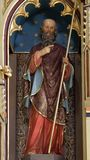 Saint Philip. Statue on the main altar in the church of Saint Matthew in Stitar, Croatia Stock Photography