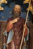 Saint Philip. Statue on the main altar in the church of Saint Matthew in Stitar, Croatia Royalty Free Stock Photo