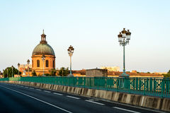 The Saint-Pierre bridge in Toulouse, France. Stock Images