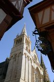 Cathedral Saint-Pierre of Vannes, France royalty free stock images