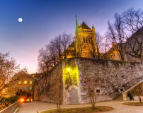 Saint-Pierre cathedral in Geneva, Switzerland, HDR Stock Images