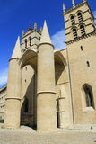 Saint Pierre Cathedral , Montpellier, France Stock Photos