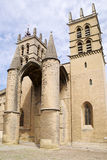 Saint Pierre Cathedral, Montpellier, France Royalty Free Stock Photos