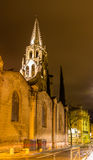 Saint Pierre church in Avignon - France Royalty Free Stock Images