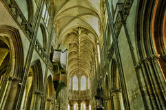 Saint Pierre church in Caen Stock Photos