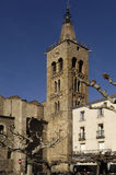 Saint Pierre Church, Prades, Languedoc Roussillon, Pyrenees Orie Royalty Free Stock Photography