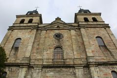 Saint Pierre de cathédrale Malmedy Photo libre de droits
