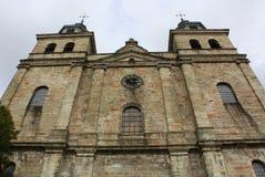 Saint Pierre de la catedral Malmedy Foto de archivo libre de regalías