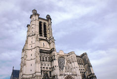 Saint-Pierre-et-Saint-Paul Cathedral in Troyes Royalty Free Stock Images