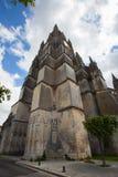 Saint Pierre katedra w Saintes wierza Obraz Stock