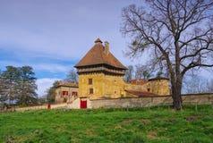 Saint-Pierre-la-Noaille Chateau Stock Image
