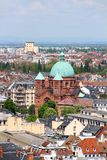 Saint-Pierre-le-Jeune église catholique, Strasbourg, France Images libres de droits