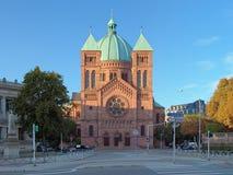 Saint-Pierre-le-Jeune Church à Strasbourg, France Photo libre de droits