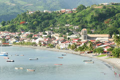Saint Pierre village in Martinique. Royalty Free Stock Photography