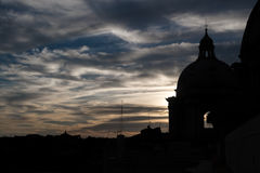 Saint Pietro Basilica Dome Stock Image