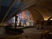 Saint Pio from Pietrelcina sanctuary, San Giovanni Rotondo, Ital Royalty Free Stock Photo