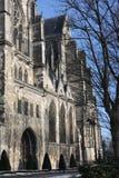 Saint-Quentin Basilica. Aisne, Picardy region of France Stock Photos
